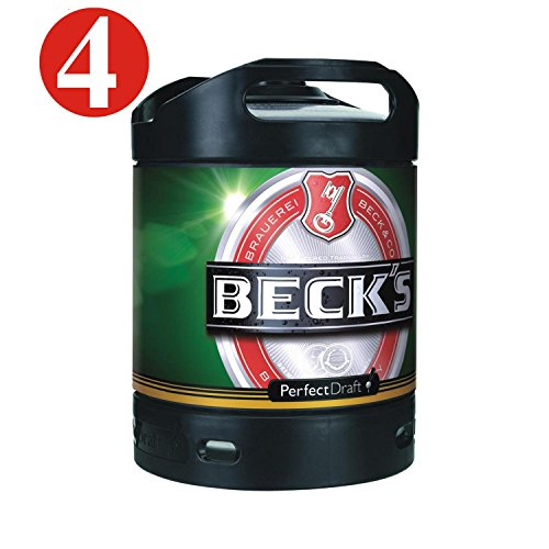 4x-Beck-Pils-Perfect-Draft-cerveza-6-litros-barril-49-vol-0