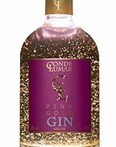 GINEBRA-CL-CONDE-LUMAR-PINK-GOLD-GIN-con-lminas-de-oro-de-23-quilates-Alcohol-40-Presentacin-botella-Premium-de-70-cl-0