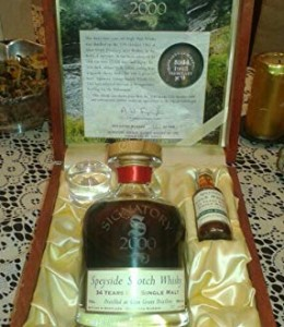 Glen-Grant-1965-34yo-Signatory-Millenium-High-Proof-box-Limited and Numbered-0