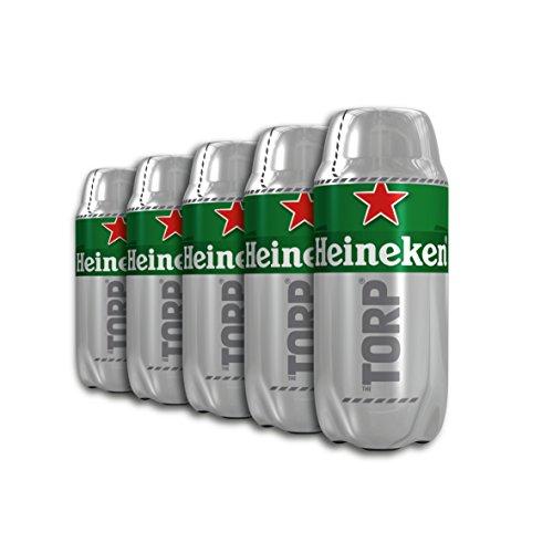 Heineken Bier Box 5 Torps X 2l Insgesamt 10 L