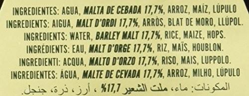 Voll Damm Doble Malta Cerveza Pack De 6 X 25 Cl Total 1 5 L